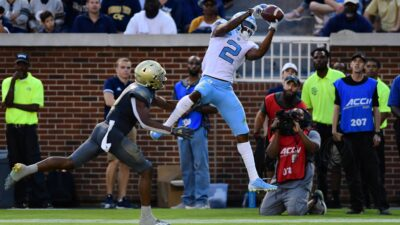 FBS College Wide Receivers